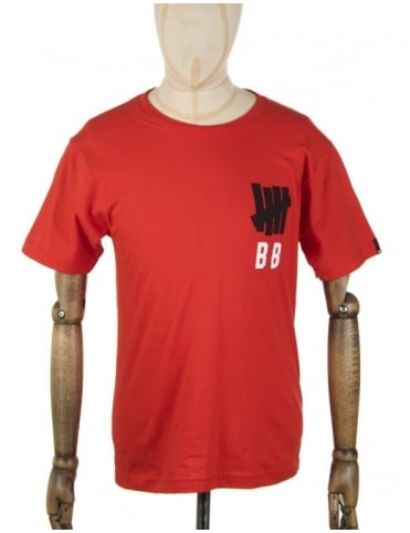 Undefeated Bat Boy T-shirt - Red
