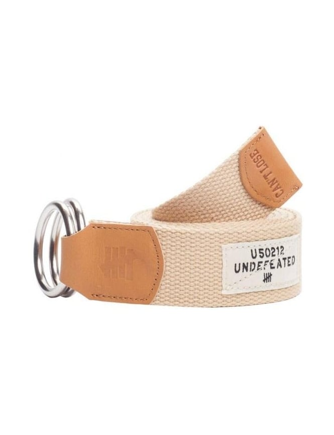 Undefeated O-Ring Belt - Tan
