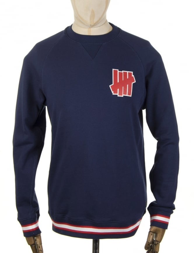 Undefeated Outfielder Sweatshirt - Blue
