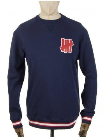 Undefeated Outfielder Sweatshirt - Blue