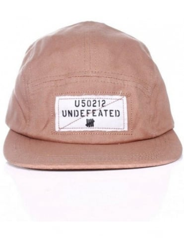 Undefeated Overlay Camper Hat - Tan