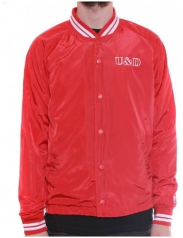 U & D Coaches Jacket - Red