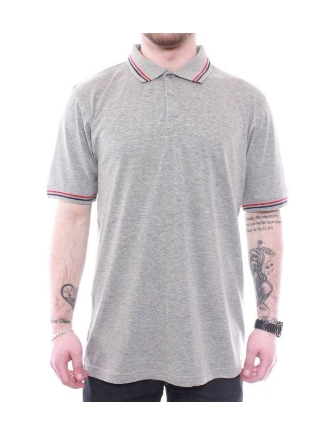 Undefeated UND Polo - Grey Heather