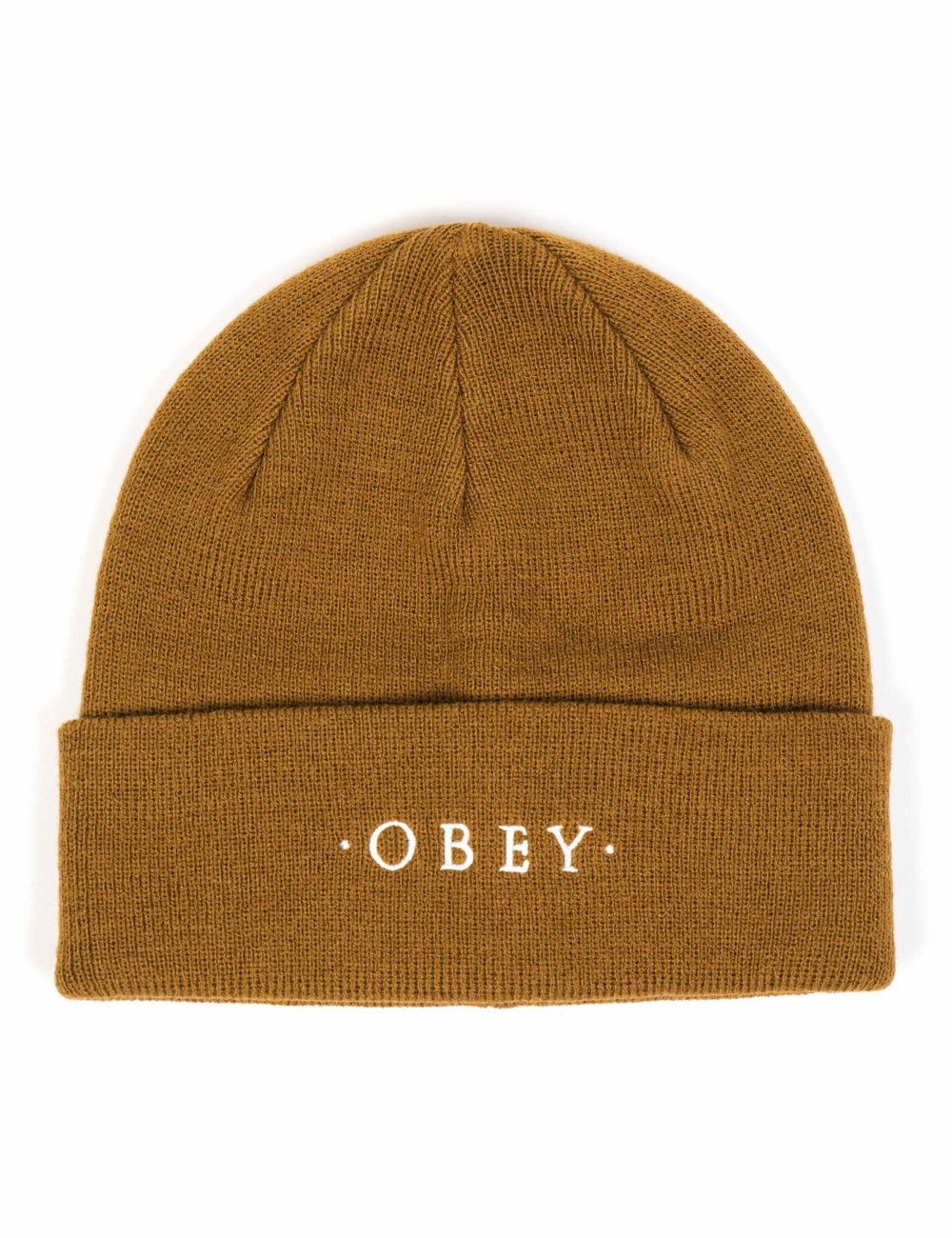 7006b92b4d6 Obey Clothing Union Beanie Hat - Tapenade - Accessories from Fat Buddha  Store UK