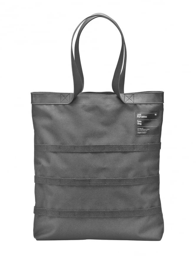 Unit Portables Unit 16 Tote Bag- Charcoal