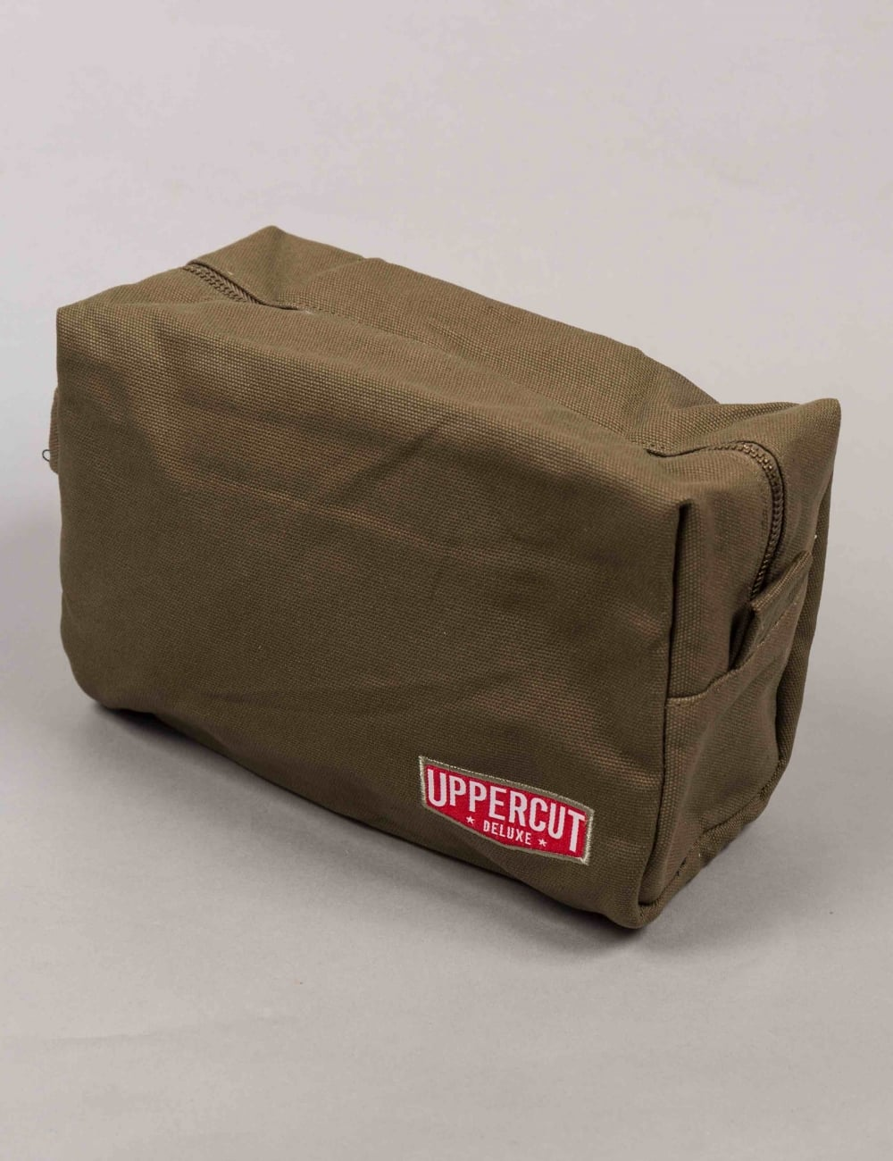 77fe2f0e7bc76 Uppercut Deluxe Canvas Wash Bag - Army Green - Mens Grooming from ...