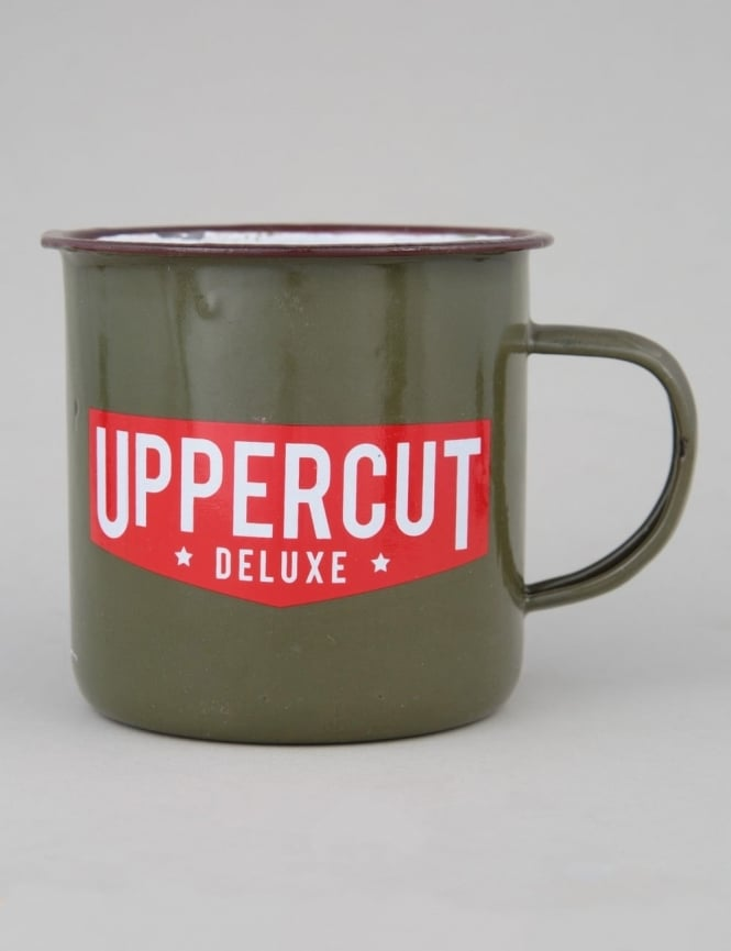 Uppercut Deluxe Tin Mug - Green