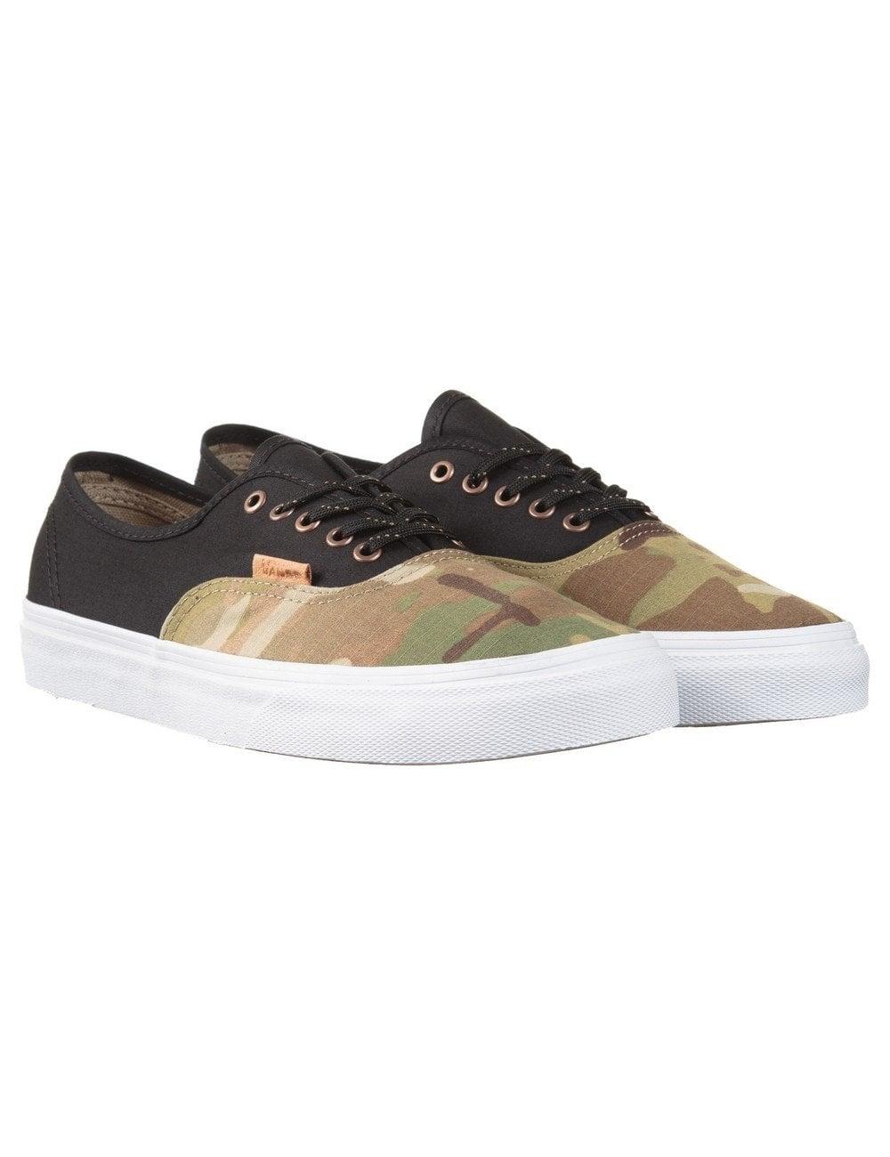 17c053917a Vans California Authentic Trainers - Black (Multicamo) - Footwear ...