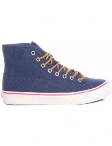 Vans California Sk8-Hi Binding - Dress Blues (10oz Canvas)