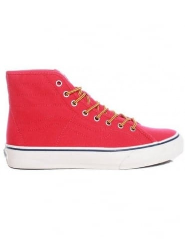 Vans California Sk8-Hi Binding - Red (10oz Canvas)