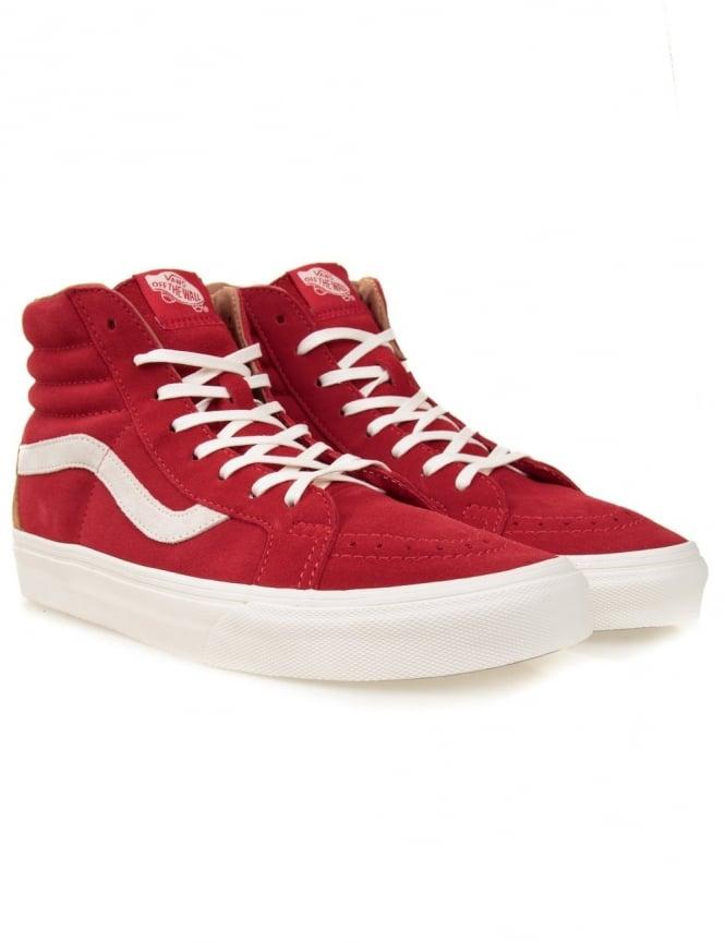 22c38daacc Vans California Sk8-Hi Reissue - Tango Red (Floral) - Footwear from ...