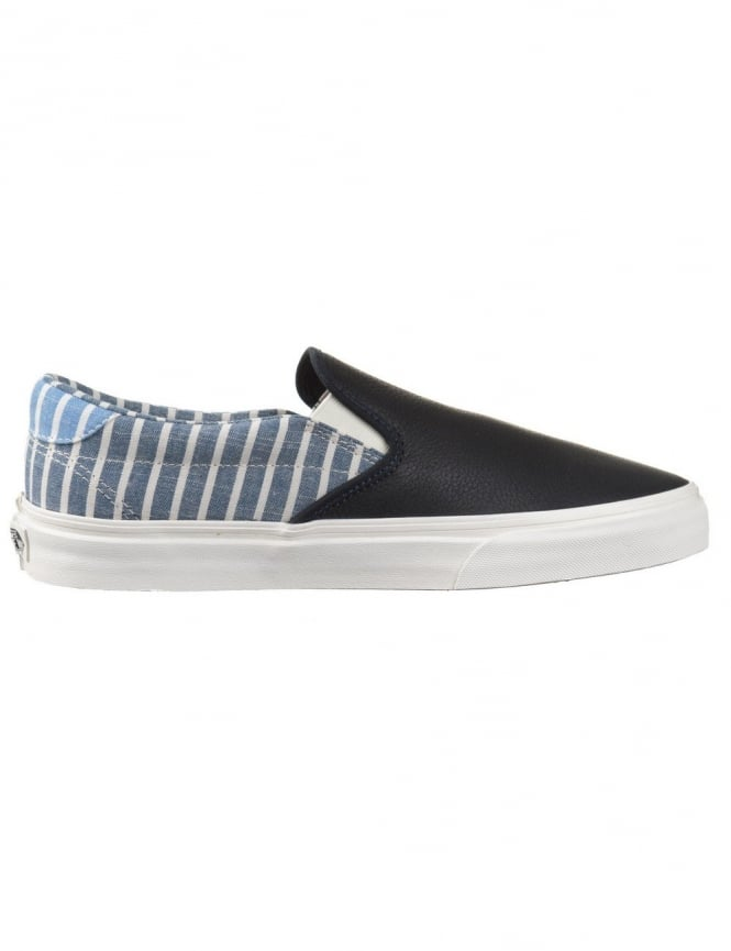Vans California Slip-On 59 CA Shoes - Dress Blue Stripe