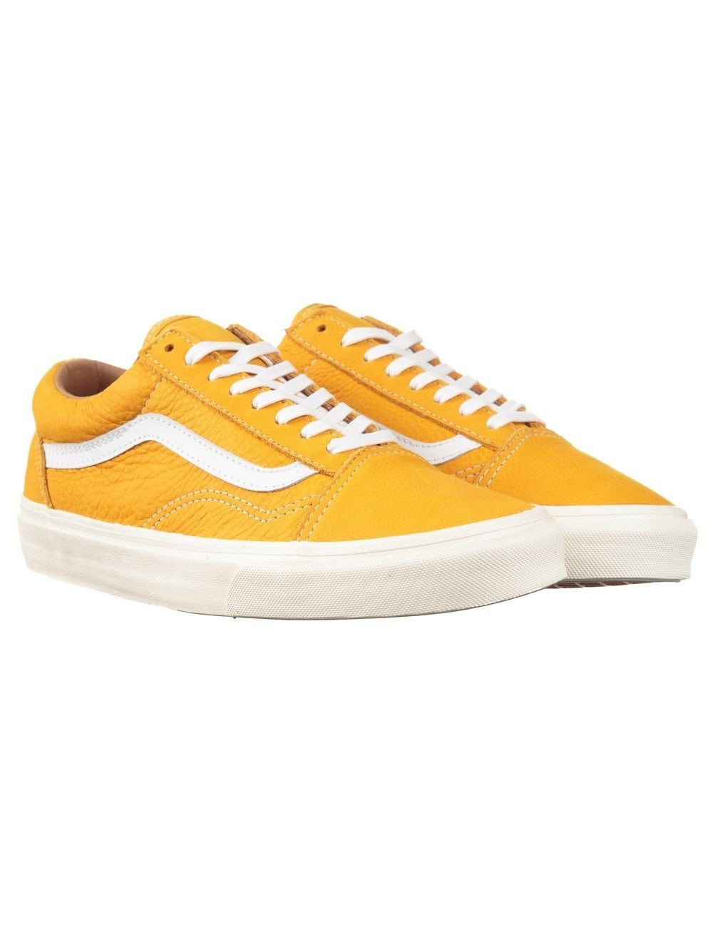 1d3b5cff02cf87 Vans Classics Old Skool Reissue Shoes - Mineral Yellow (Classic Leather)