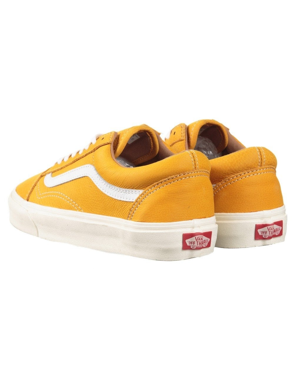 yellow old skool vans