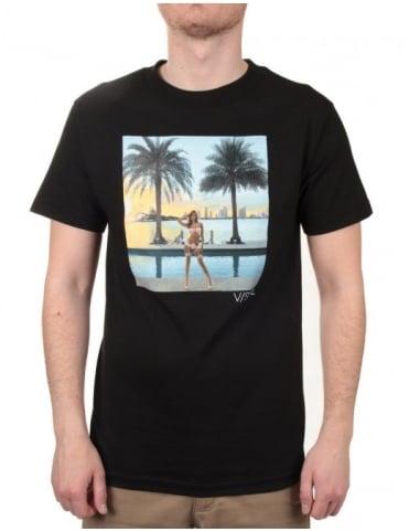 Visual by Van Styles Paradise City Tee - Black