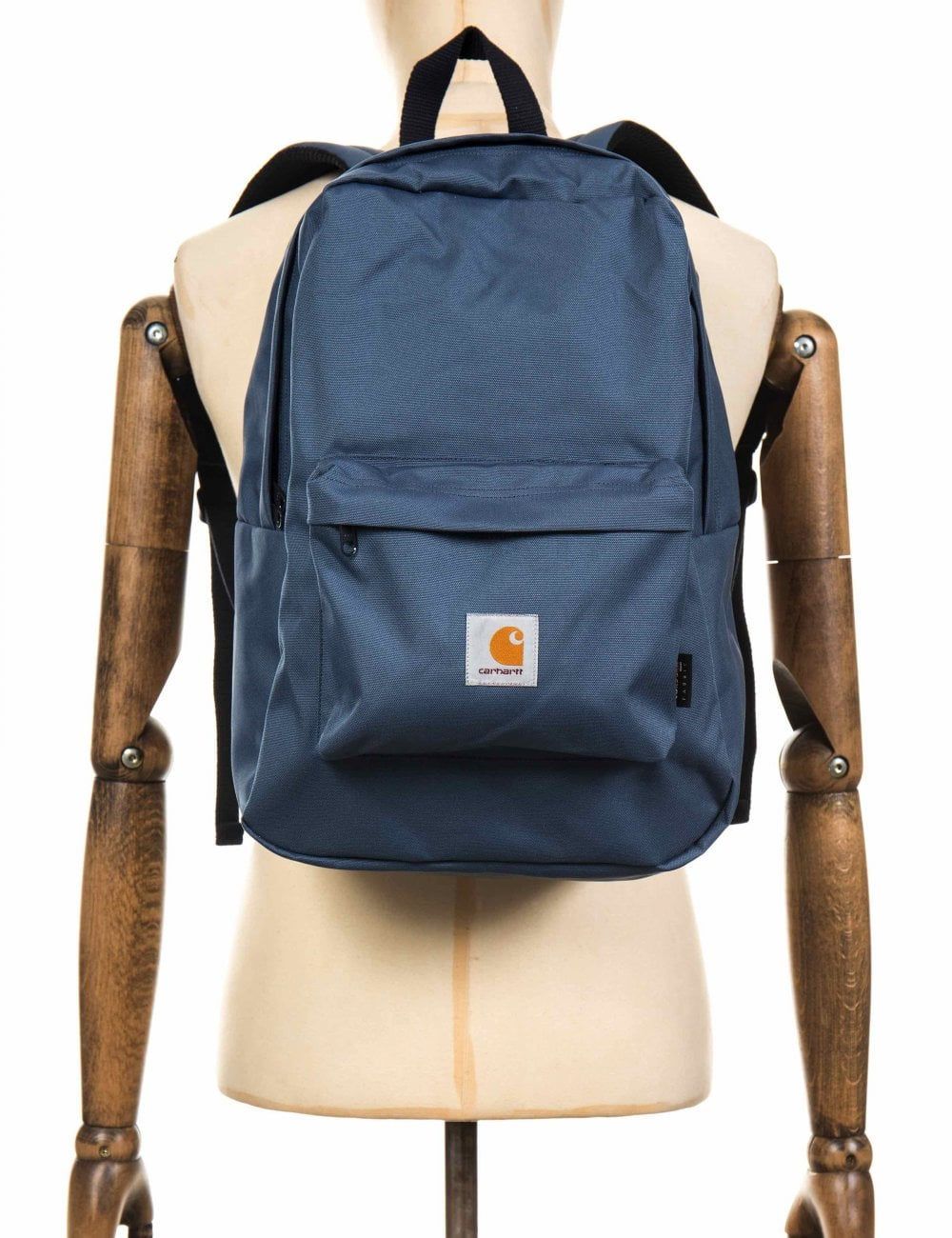 Carhartt WIP Watch Backpack - Stone Blue Dark Navy - Accessories from Fat  Buddha Store UK