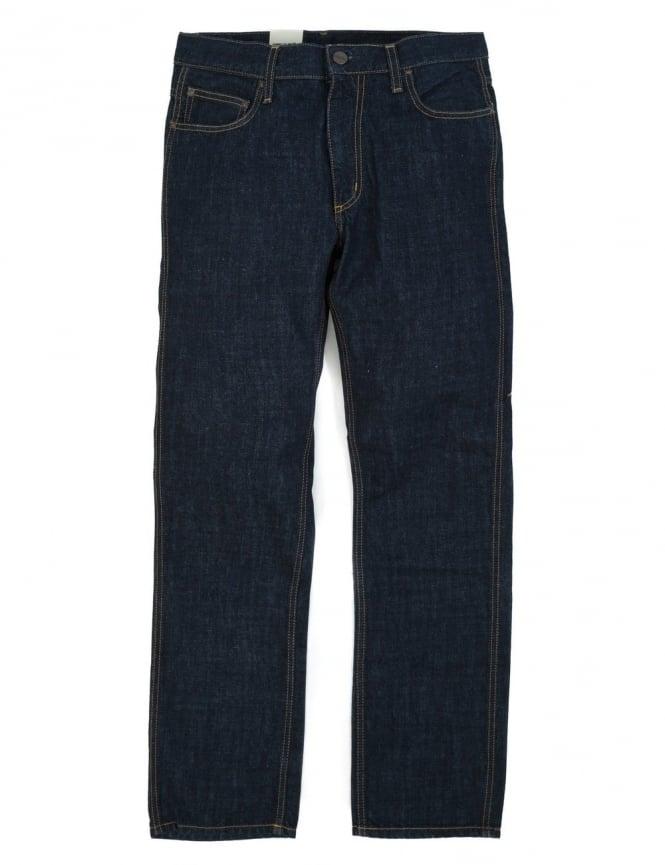 Carhartt Western Pant II - Blue Rinsed (Edgewood Denim)
