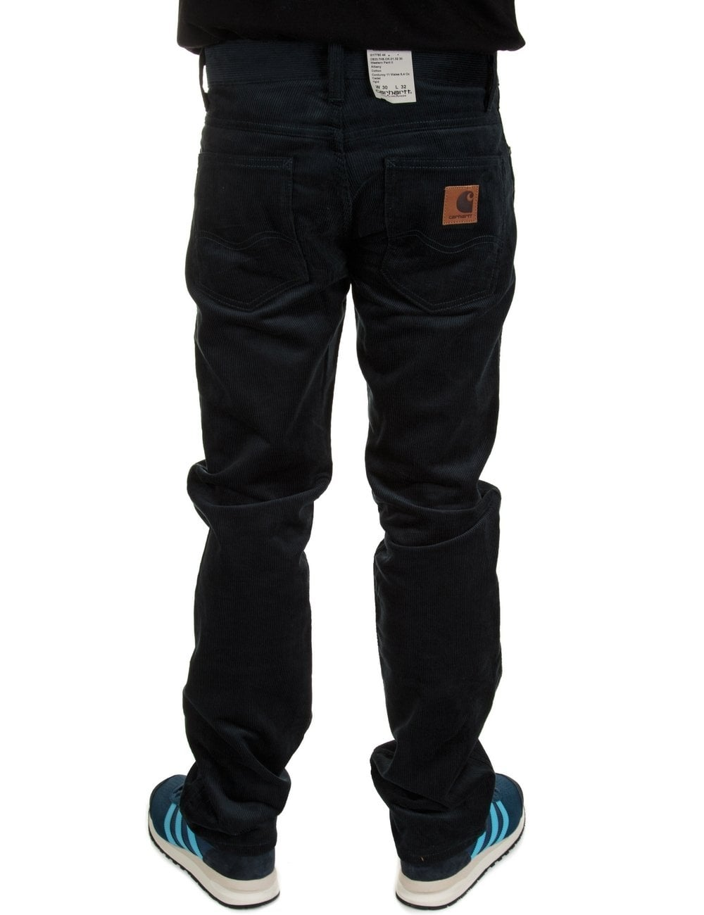 Carhartt Wip Western Pant Ii Cadet Albany Cord Clothing From Fat Buddha Store Uk