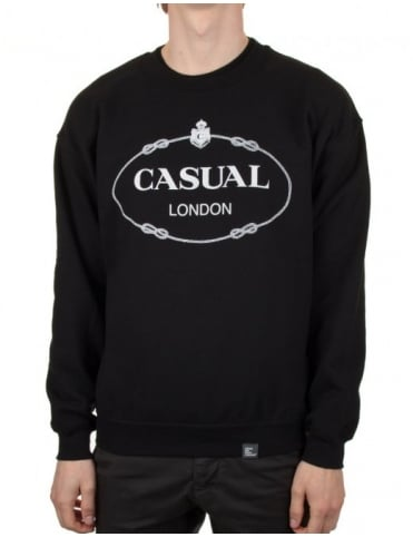 When We Were Casuals Bracelet Sweat - Black