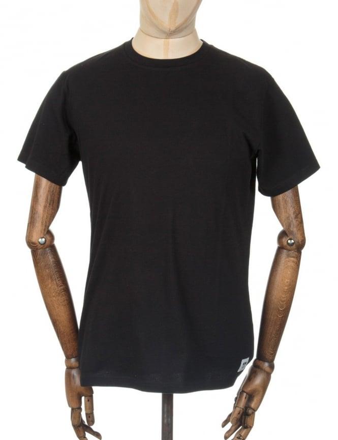 Wood Wood Basic T-shirt - Black