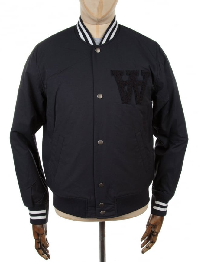 Wood Wood Billie Jacket - Navy