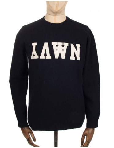 Wood Wood Bob Knit - Dark Navy