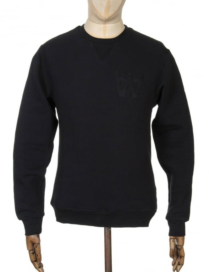 Wood Wood Houston Sweatshirt - AA Black