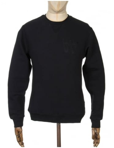Wood Wood Houston Sweatshirt - AA Black