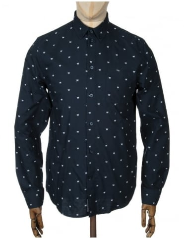 L/S Timothy Shirt - AA Navy