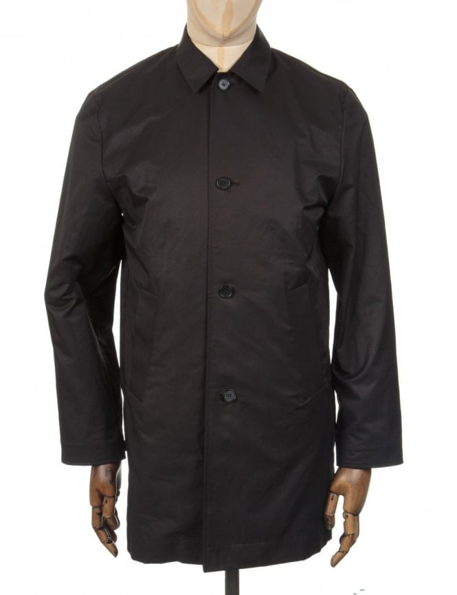 Wood Wood Oxford Long Jacket - Black