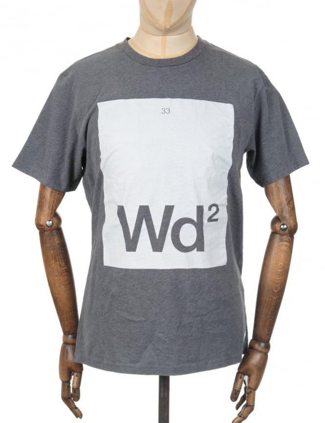 Wood Wood Periodic Table T-shirt - Carbon Grey