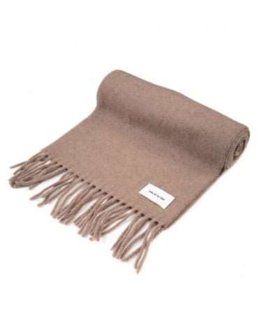 Todd Wool Scarf - Tanin Brown