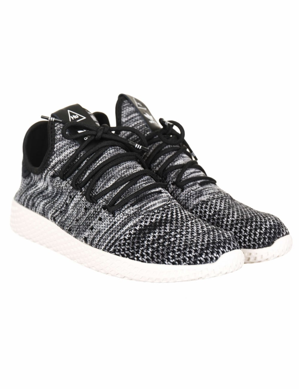 57b84d6c5893a Adidas Originals x Pharrell Williams Tennis HU PK Trainers - Chalk ...