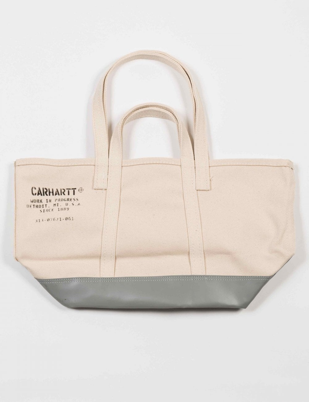 X Steele Canvas Small Tote Bag Off White