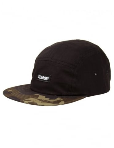 XLarge Camo G Cap - Black