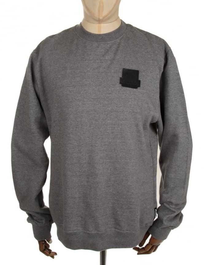 XLarge Lth OG Crewneck Sweatshirt - Heather Grey