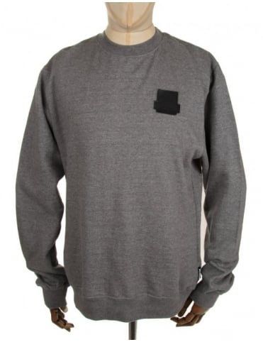 Lth OG Crewneck Sweatshirt - Heather Grey