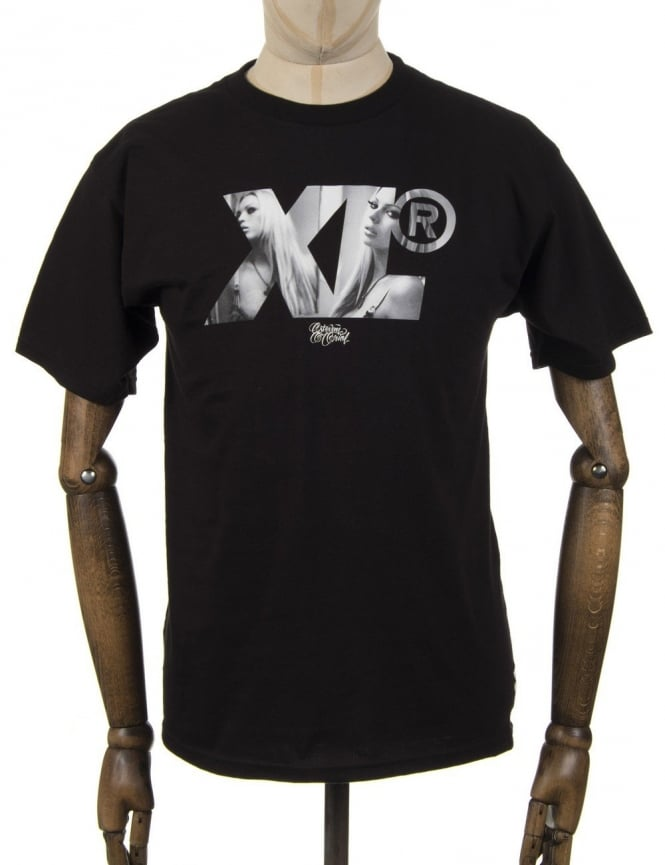 XLarge Megan Logo T-shirt - Black