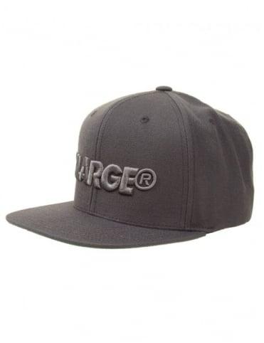 XLarge Slant Cap - Grey