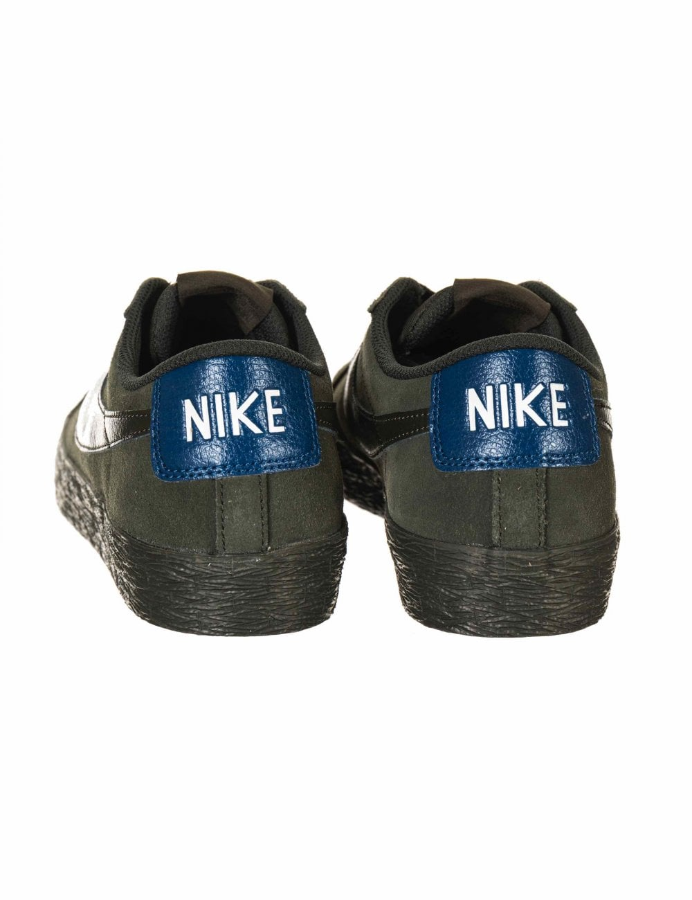 reembolso Imbécil Rayo  Nike SB Zoom Blazer Low Shoes - Sequoia/Blue Force - Trainers from Fat  Buddha Store UK