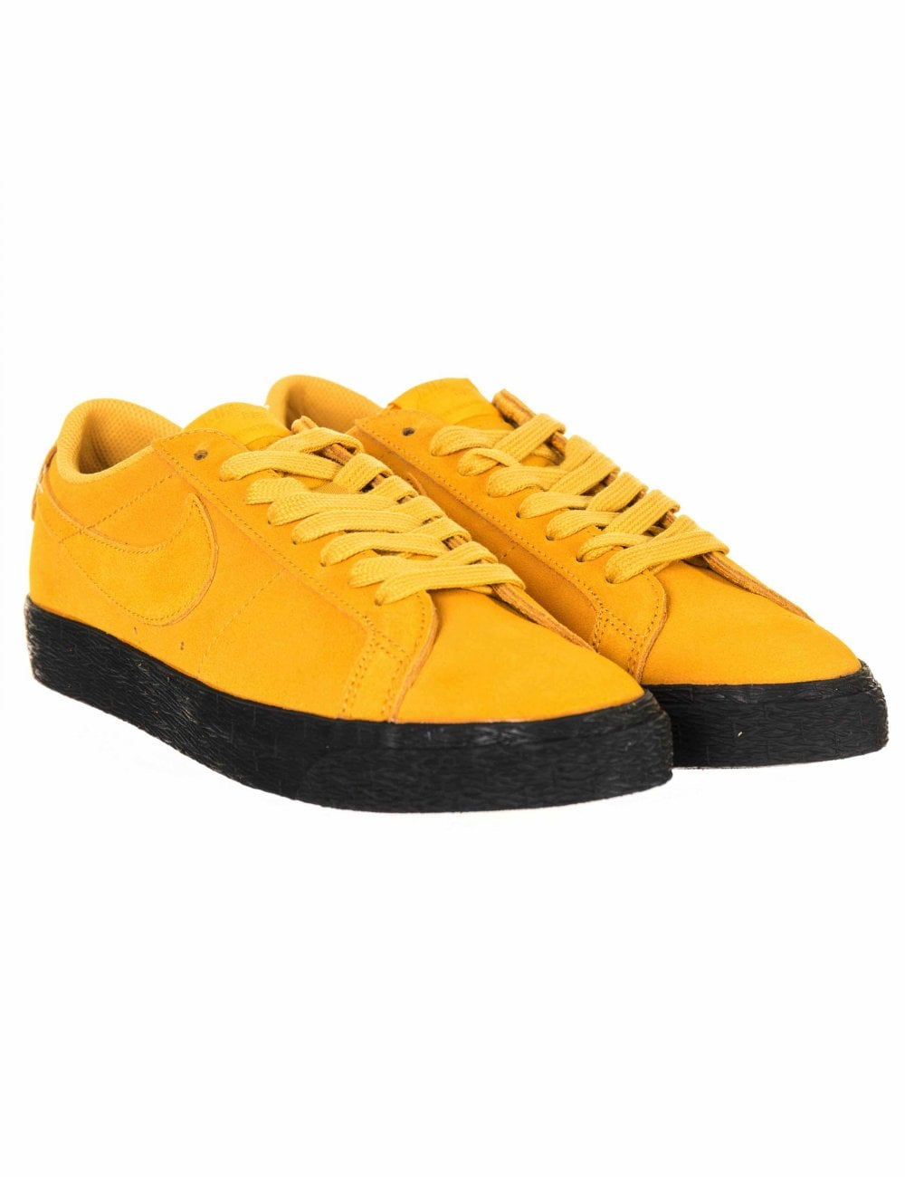 competitive price d93cf d320e Nike SB Zoom Blazer Low Trainers - Yellow Ochre - Footwear from Fat Buddha  Store UK